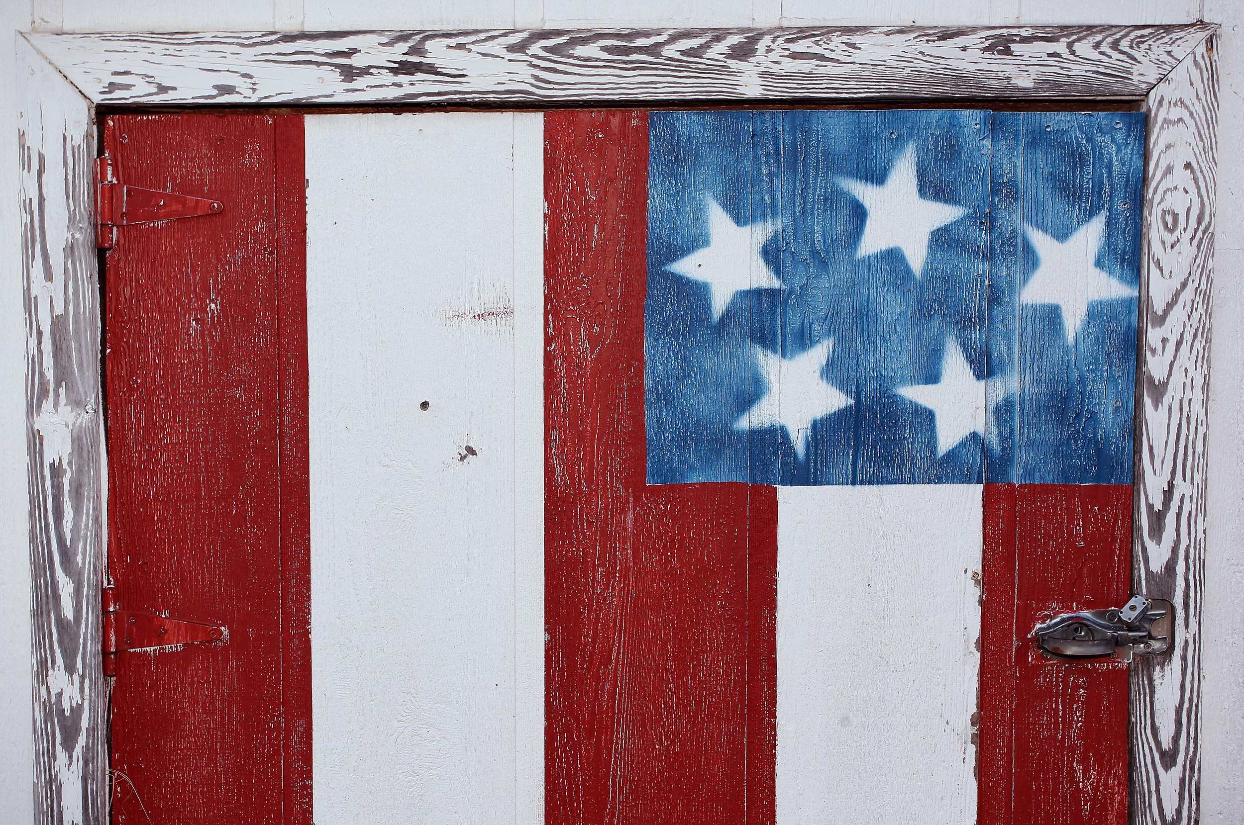 Backyard Flag