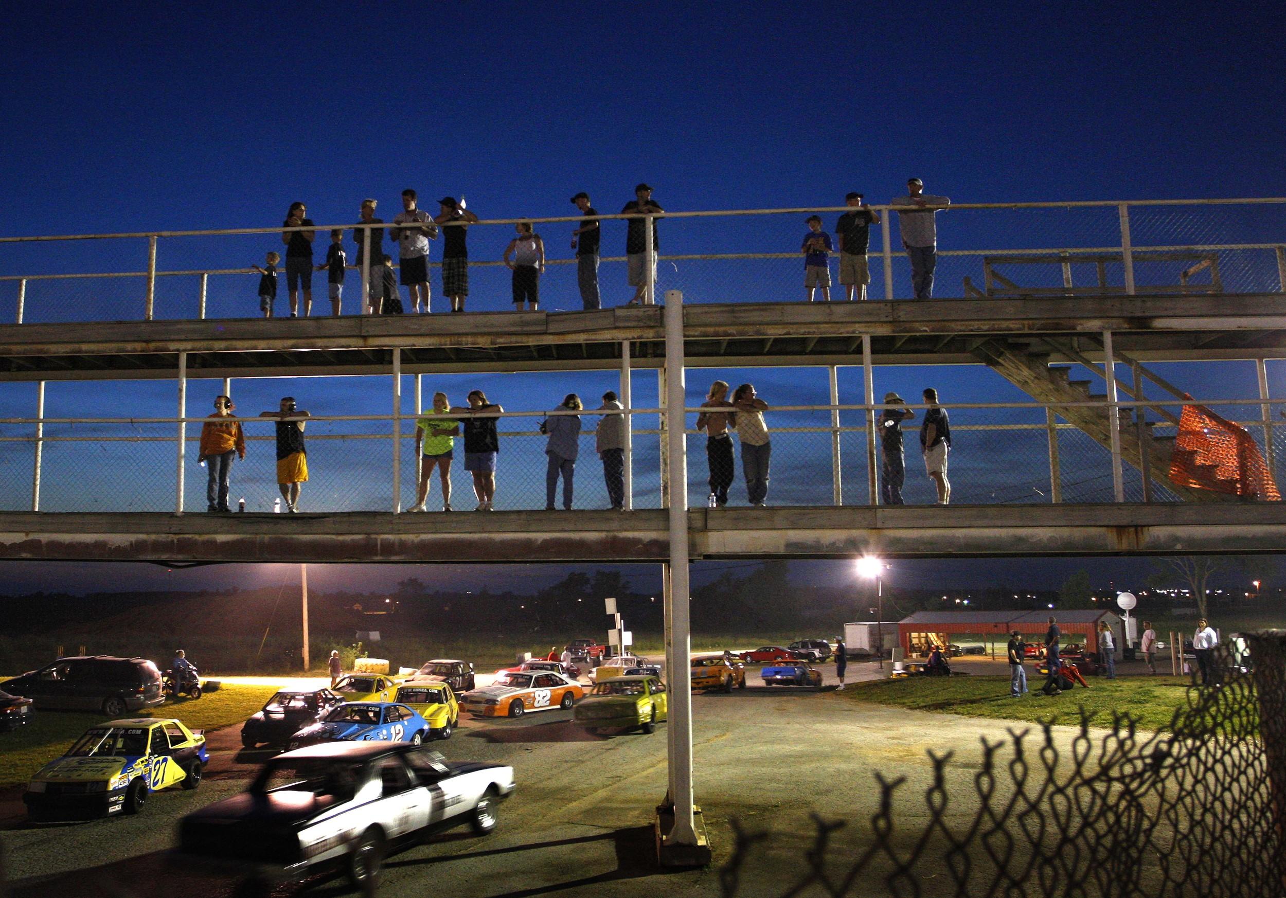 Stock Car racing in Bolivar, Missouri