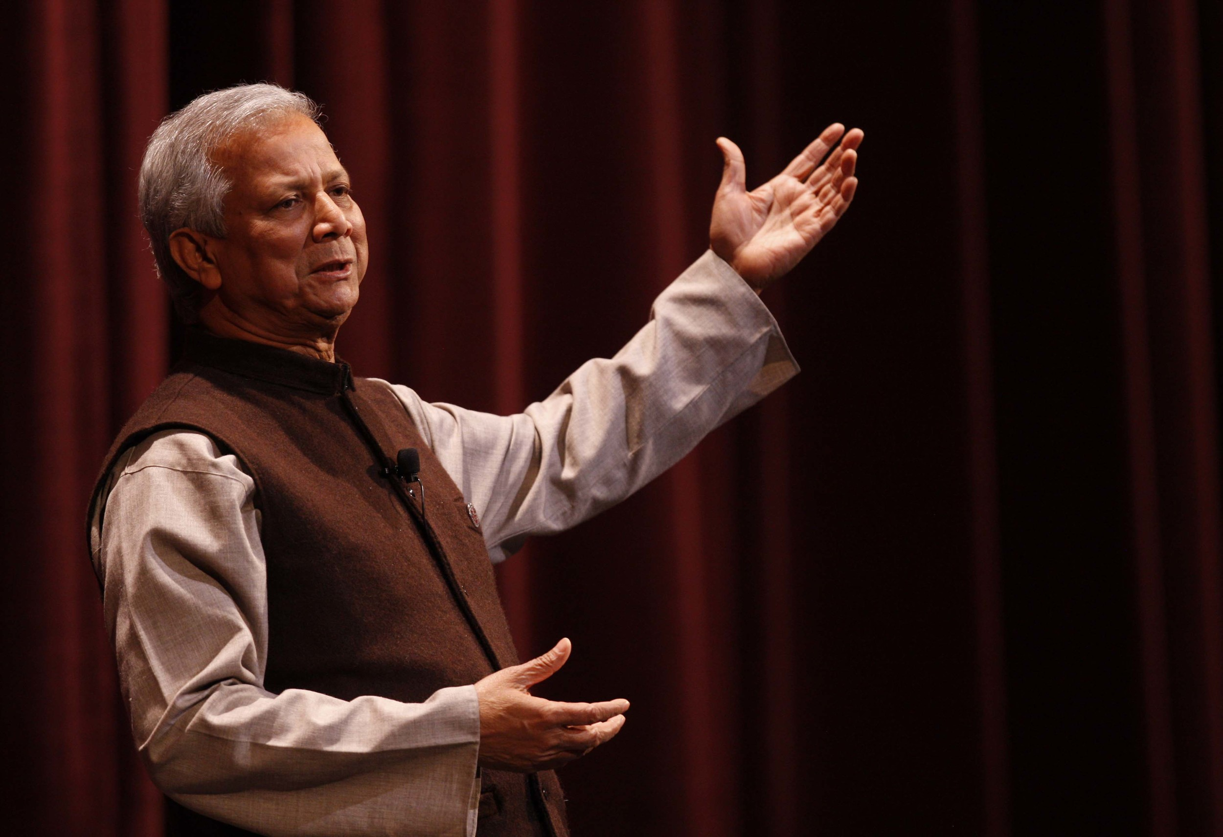 Nobel Peace Prize Winner and Economist Dr. Muhammad Yunus