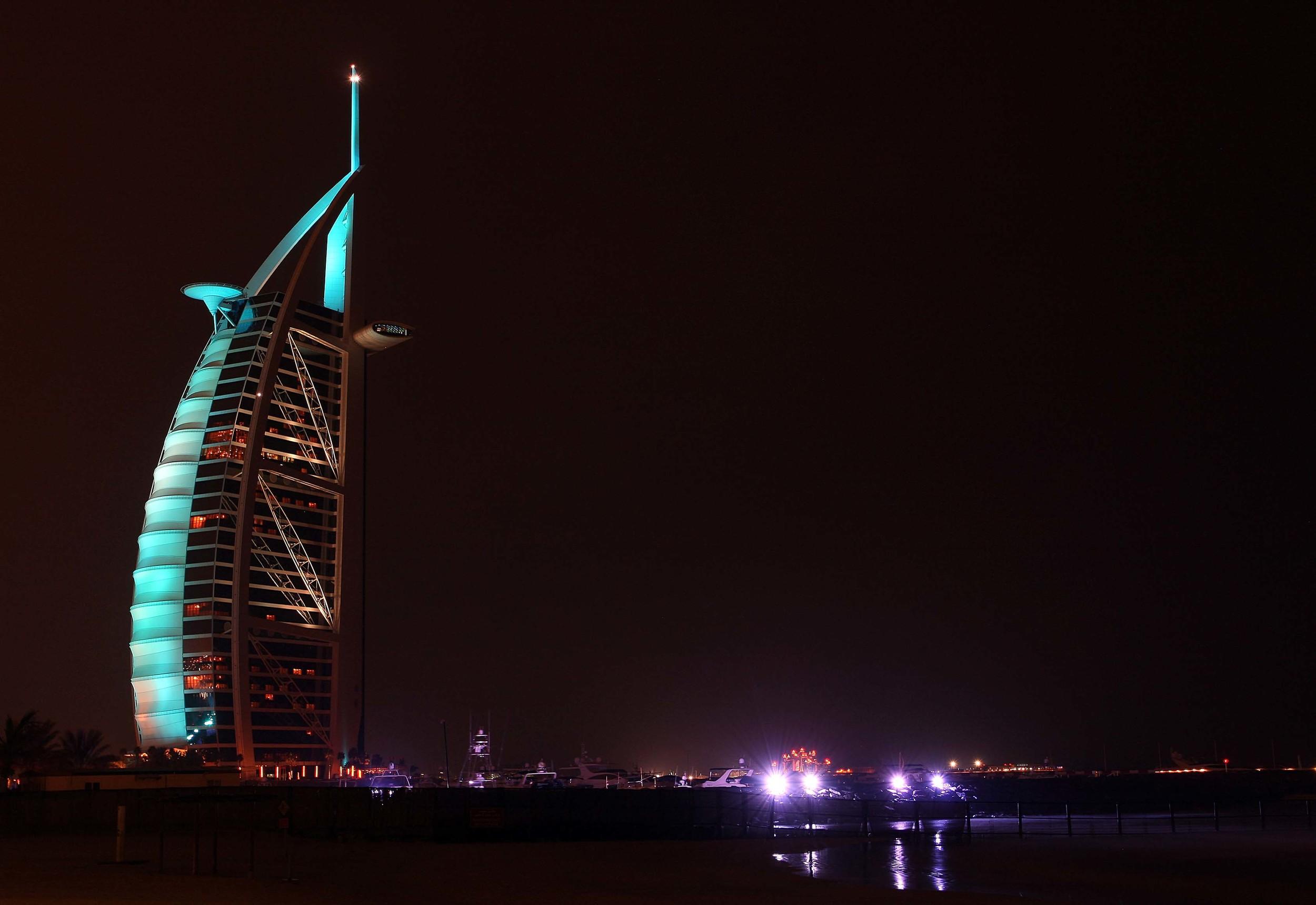 The Burj Al Arab Hotel - Dubai