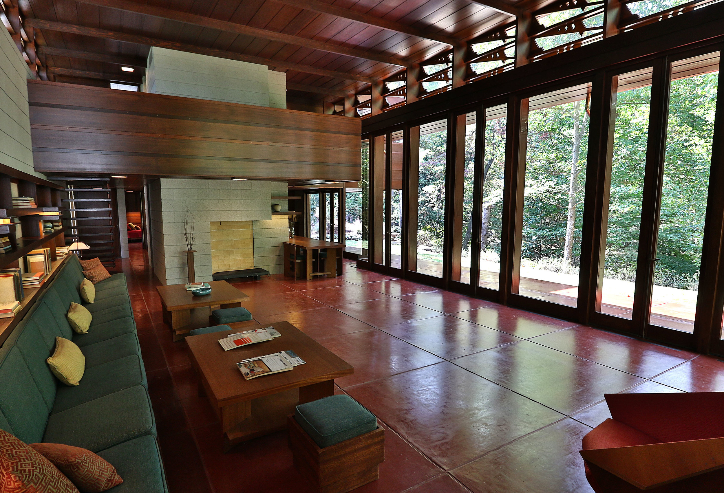 Bachman-Wilson House by Frank Lloyd Wright