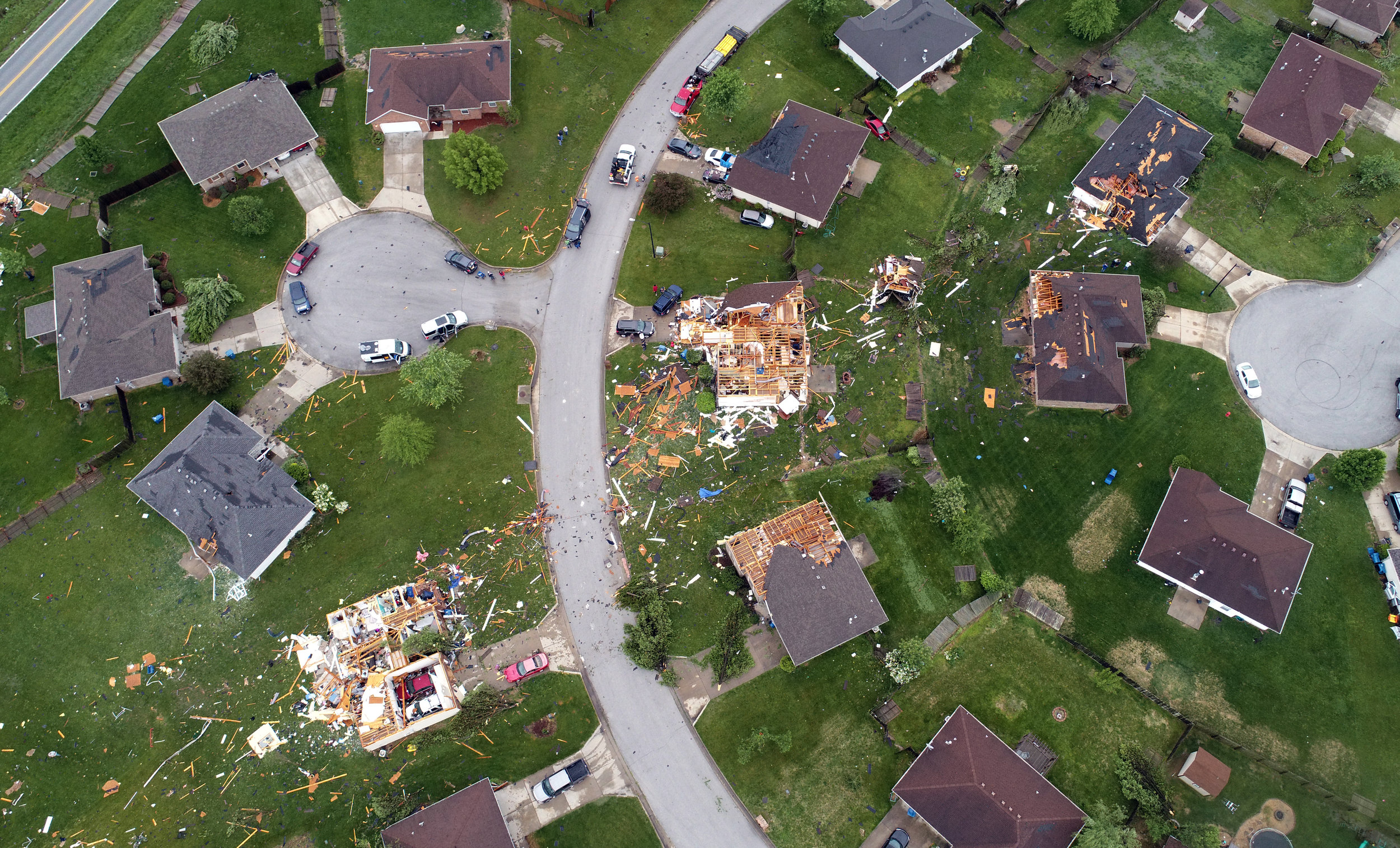 Tornado Damage in Ozark, Missouri. May 2019