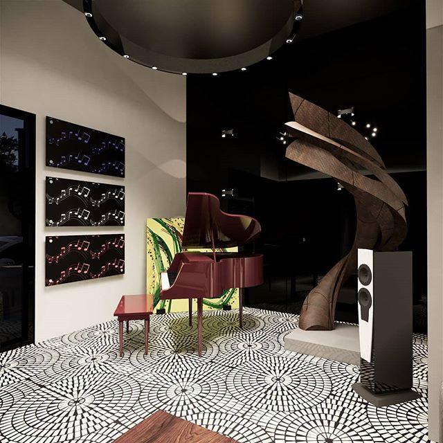 Amazing backyard studio! Beautiful space, including chill lounge area. Only 18x20 feet  #backyardstudio #musicstudio #music #relax #mancave #sheshed #stunning #artstudio #architecture #residentialdesign #residentialarchitecture #dreamspace #interiors #intetiordesign