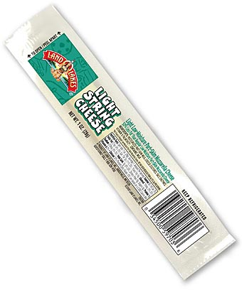 String cheese works great in dog training.