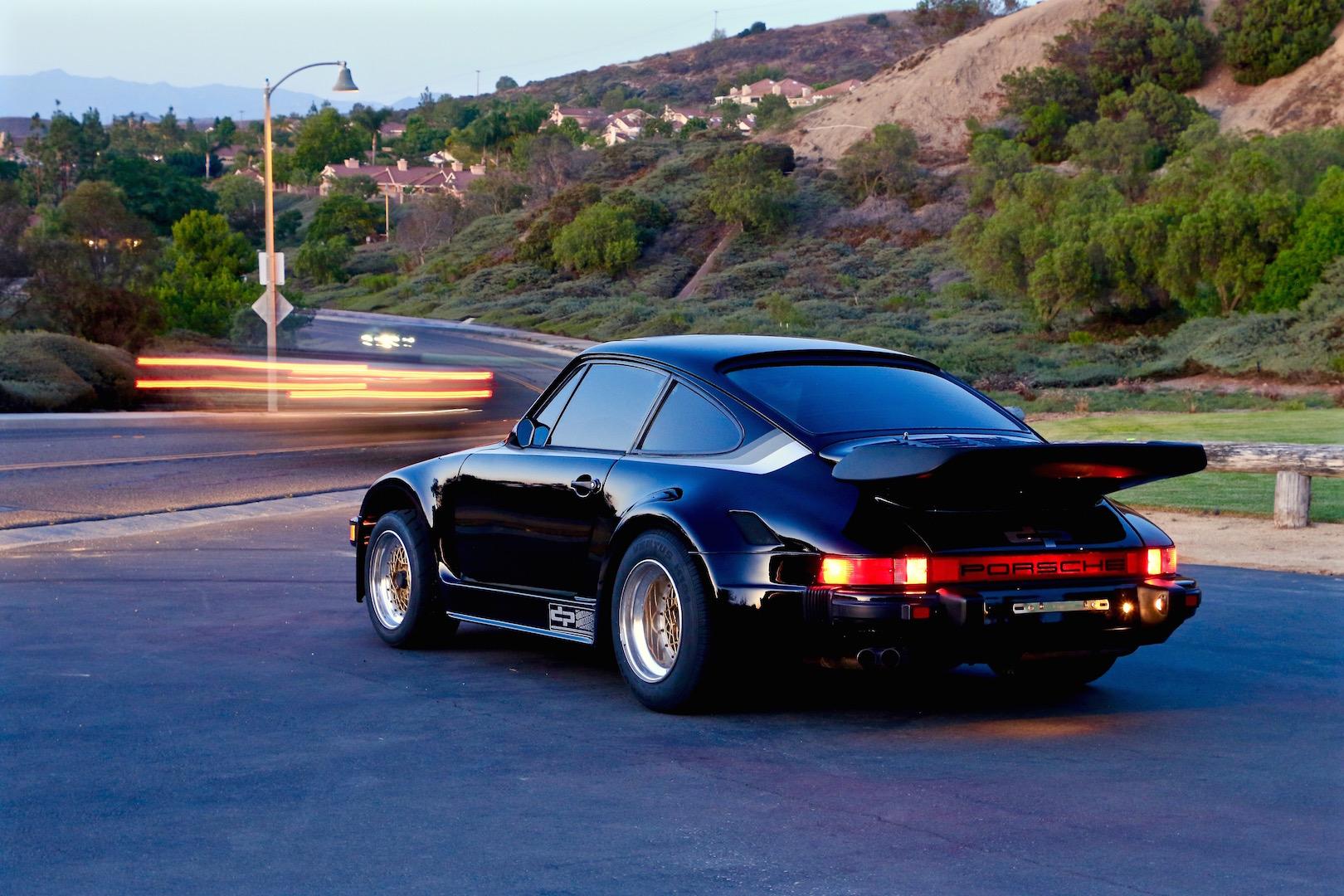 1980s Porsche Kremer in California.