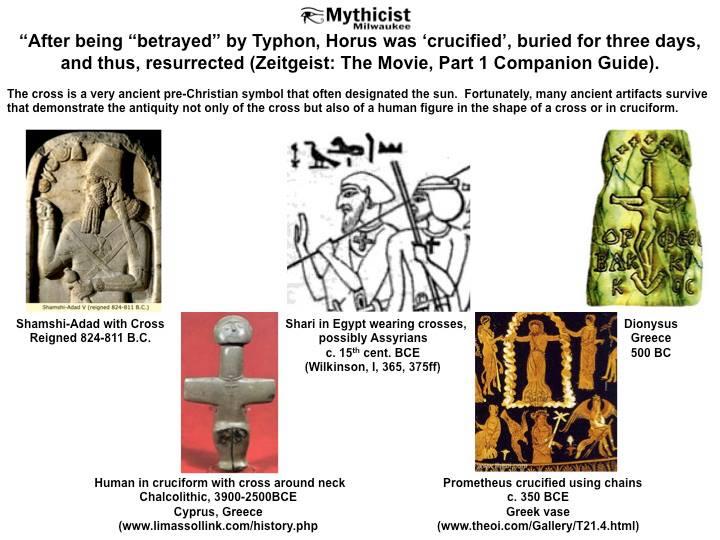Pre Christian Gods on a Cross.jpg