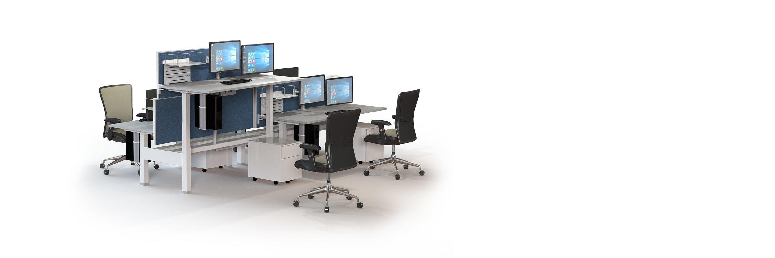 Workstations - Team furniture