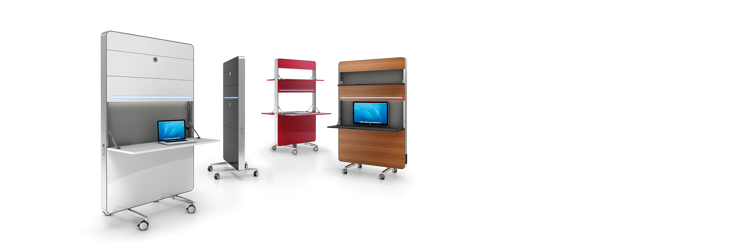 Nomado - Mobile stackable workstations