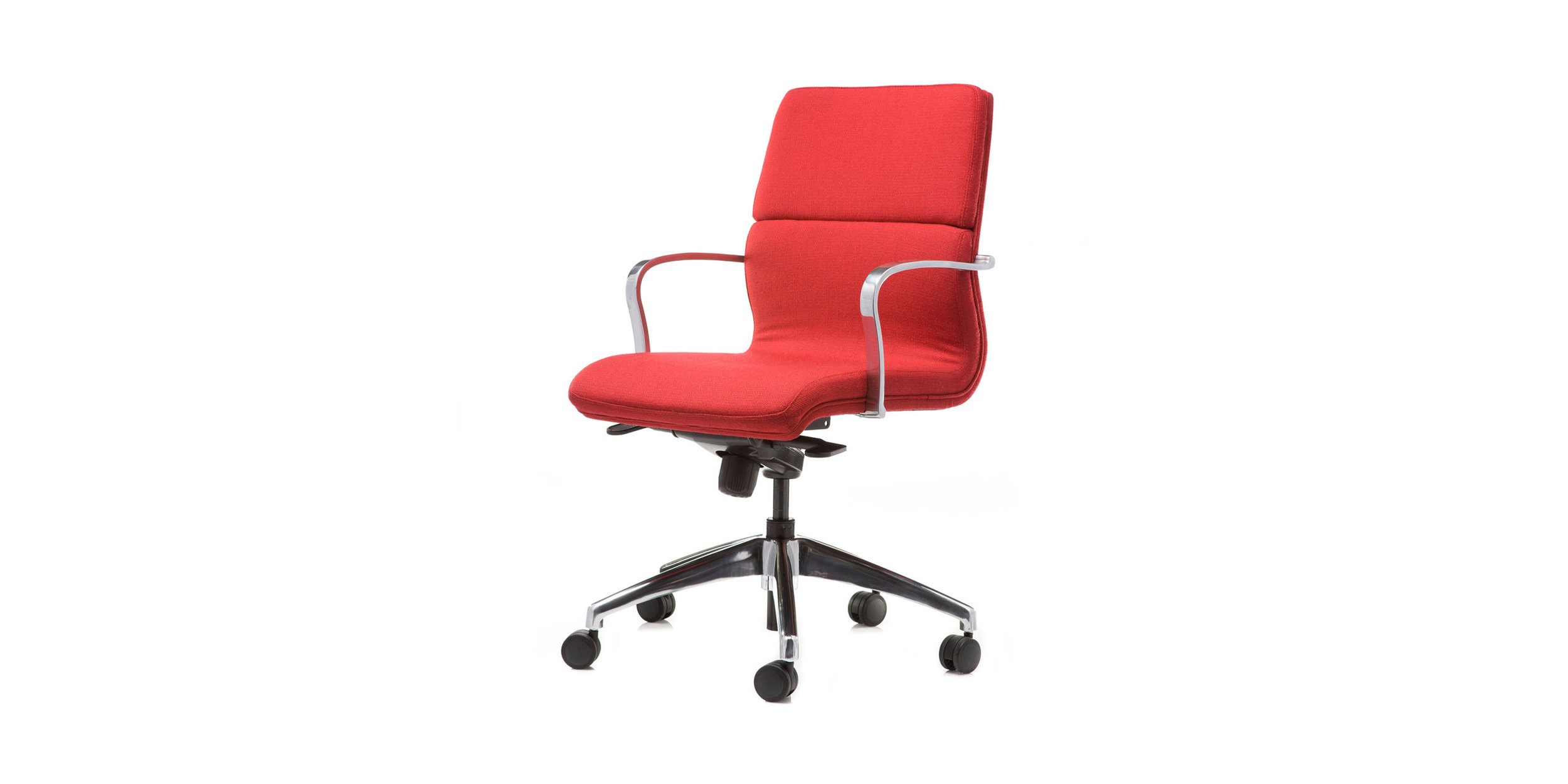 Meeting - We offer a wide range of chairs suitable for meeting rooms and boardrooms. Featuring a variety of styles and fabrics to complement the modern workplace, all chairs come with a five-year warranty and are priced to accommodate various budgets.