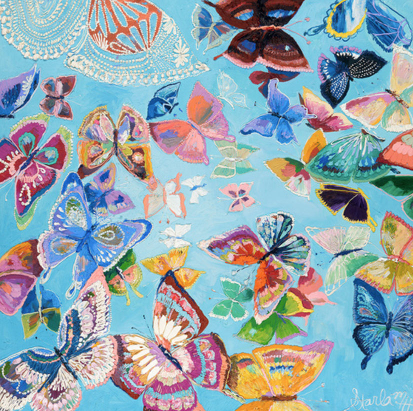 """Butterflies in Spring"""