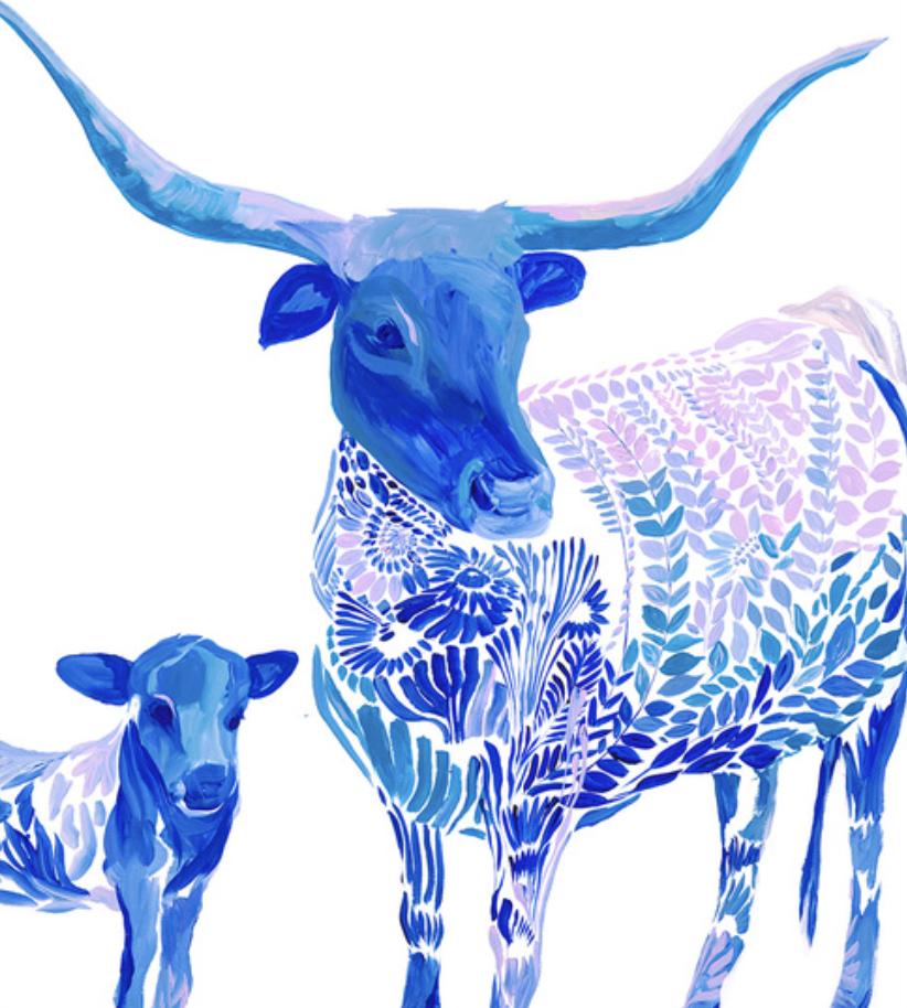Blue Bovine