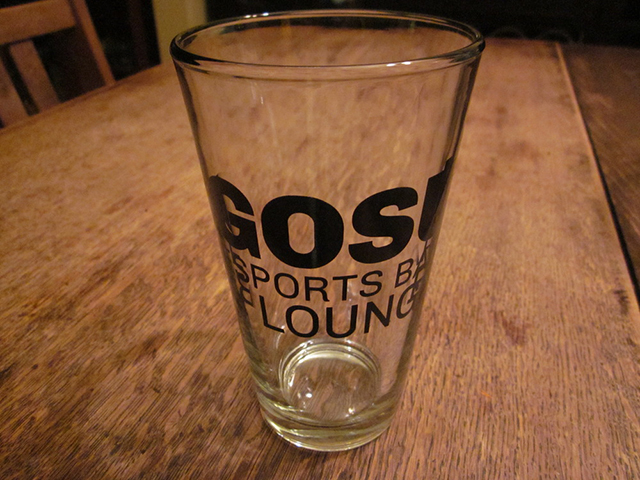 Gosu E-Sports Pint Glass