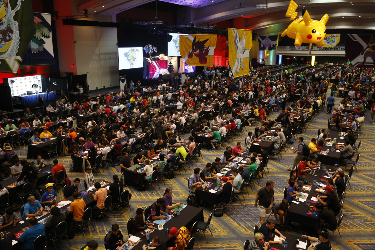 Pokemon World Championships 2014 in Washington D.C.  source