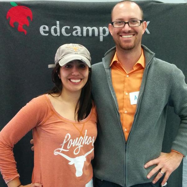 Organizers Stephanie Cerda and Adam Holman