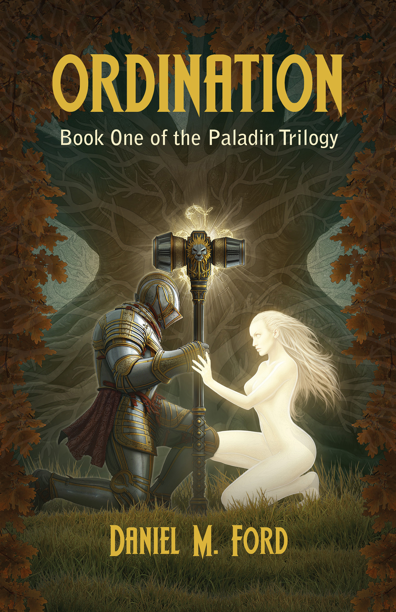 Cover artwork for the first book, Ordination.