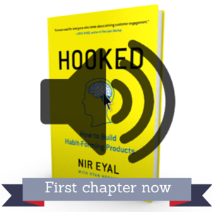 Start reading or listening to the first chapter of  Hooked  now. You'll receive the first chapter of the book as a PDF and audio file right away.