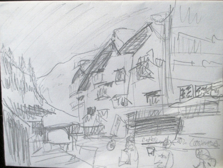 Zermatt, Switzerland street scene