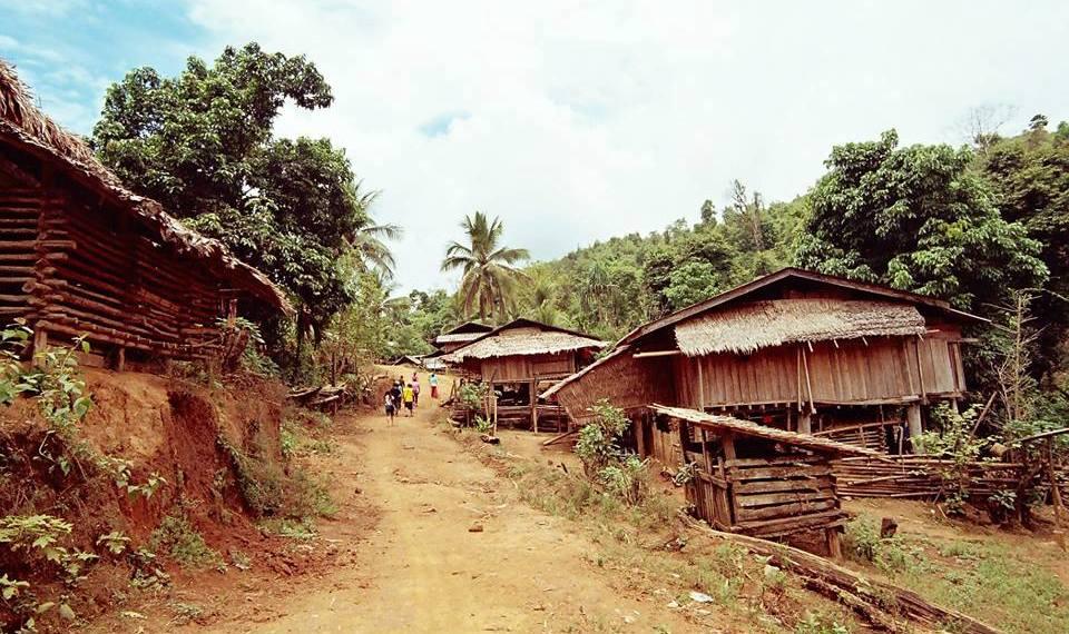 克倫族部落 Mae Po Kee ,處處顯現著人們與大自然共生的辛勤與和諧。 (攝影/呂郁葶)