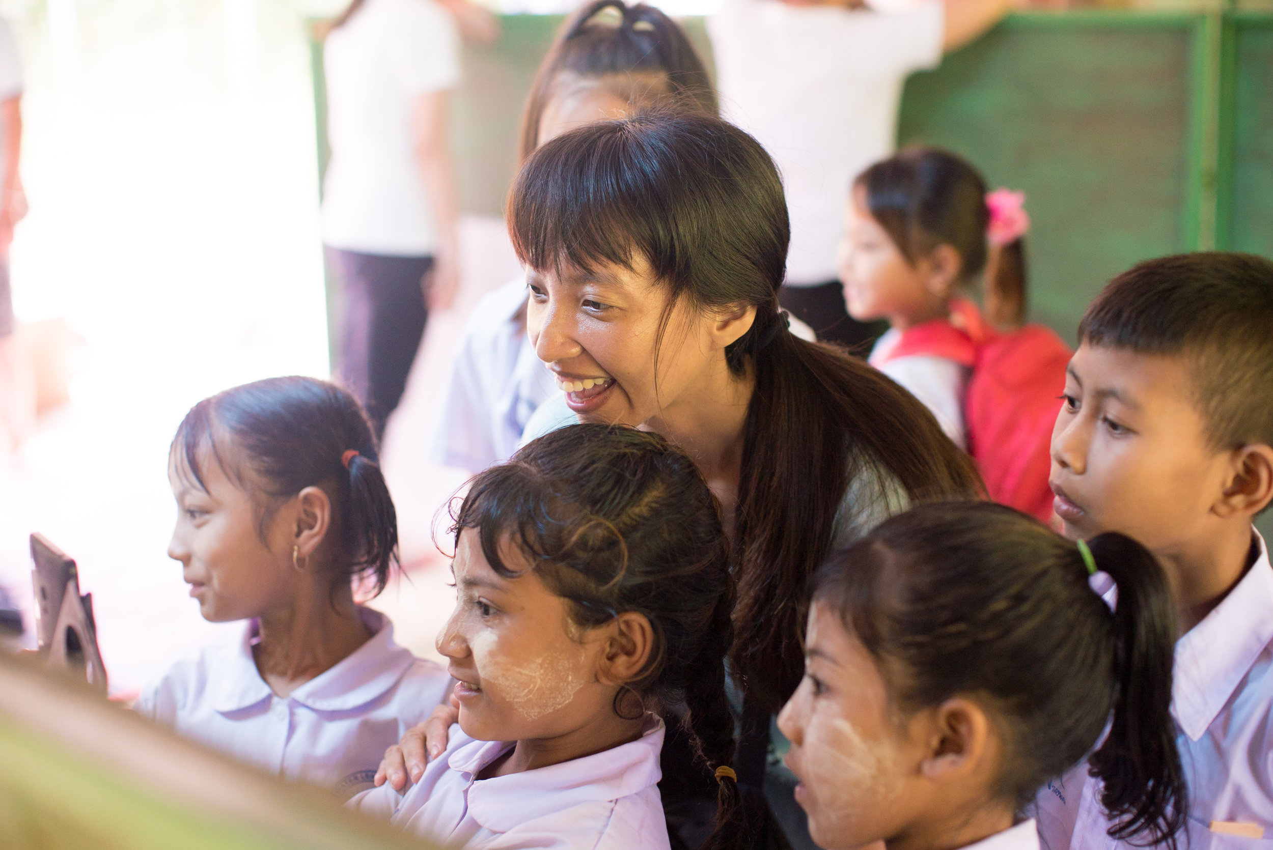 對於在泰國出生的孩子,故鄉緬甸實在太遙遠了。(攝影╱余博強)