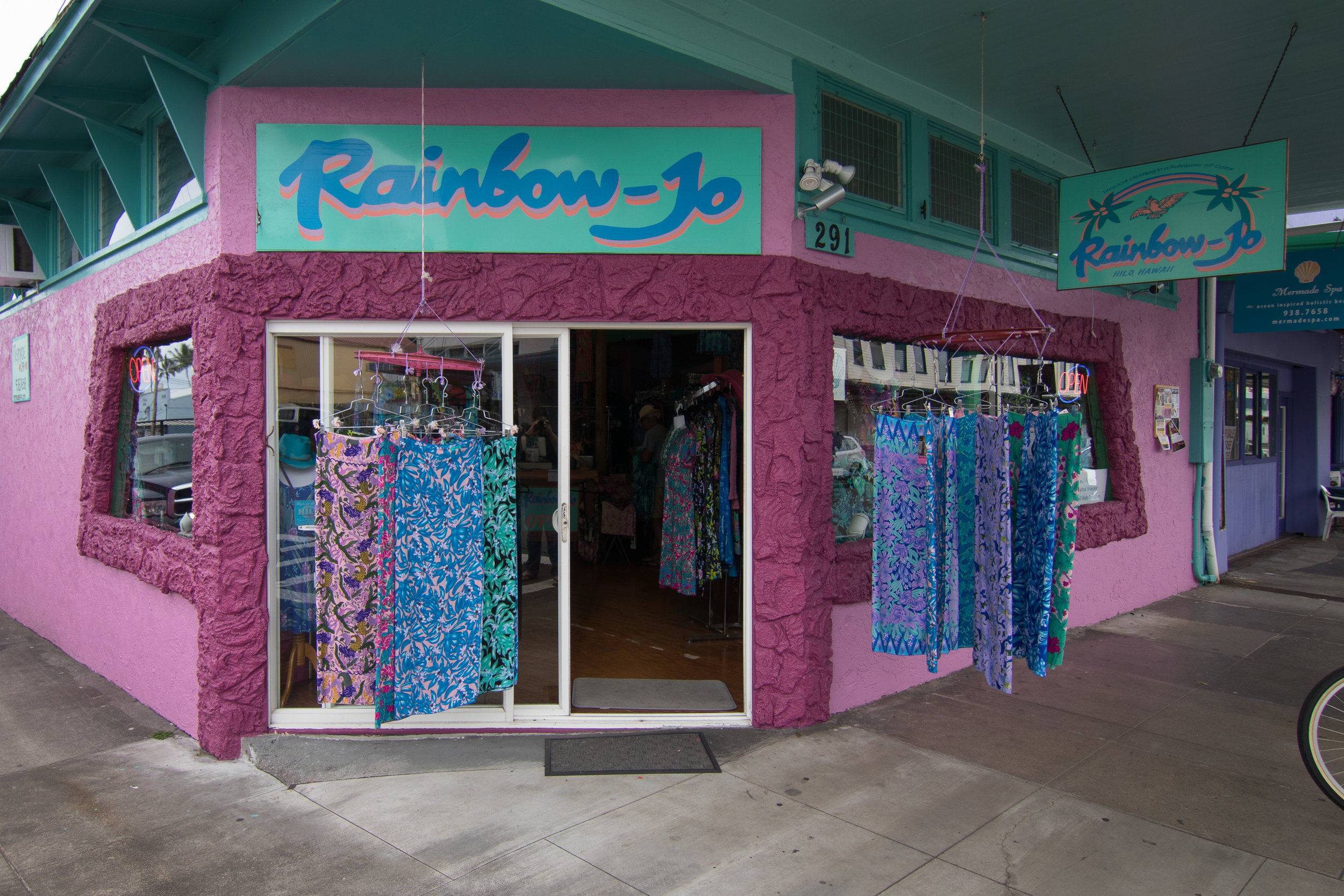 Come visit us in Hilo at 291 Keawe St.   We are open Monday - Saturday from 9am to 5pm.