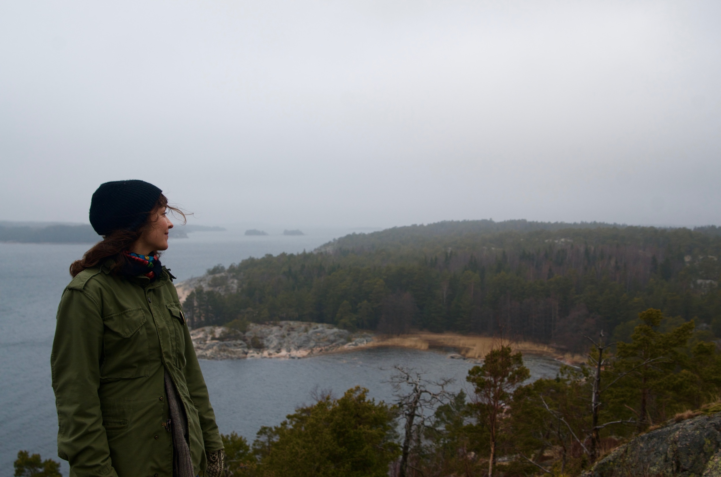 A photo by my friend Kristiina. Visiting the lands my grandmother's people came from. But that's another story about co-incidence, conservationist friends, and small island life in Finland <3