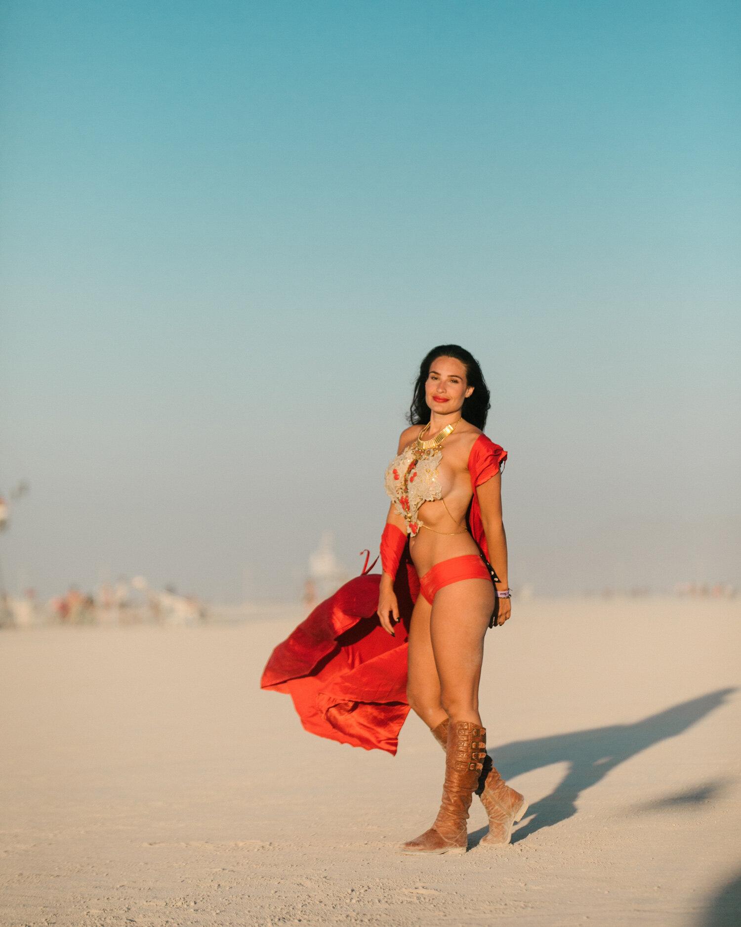 fashion on the playa