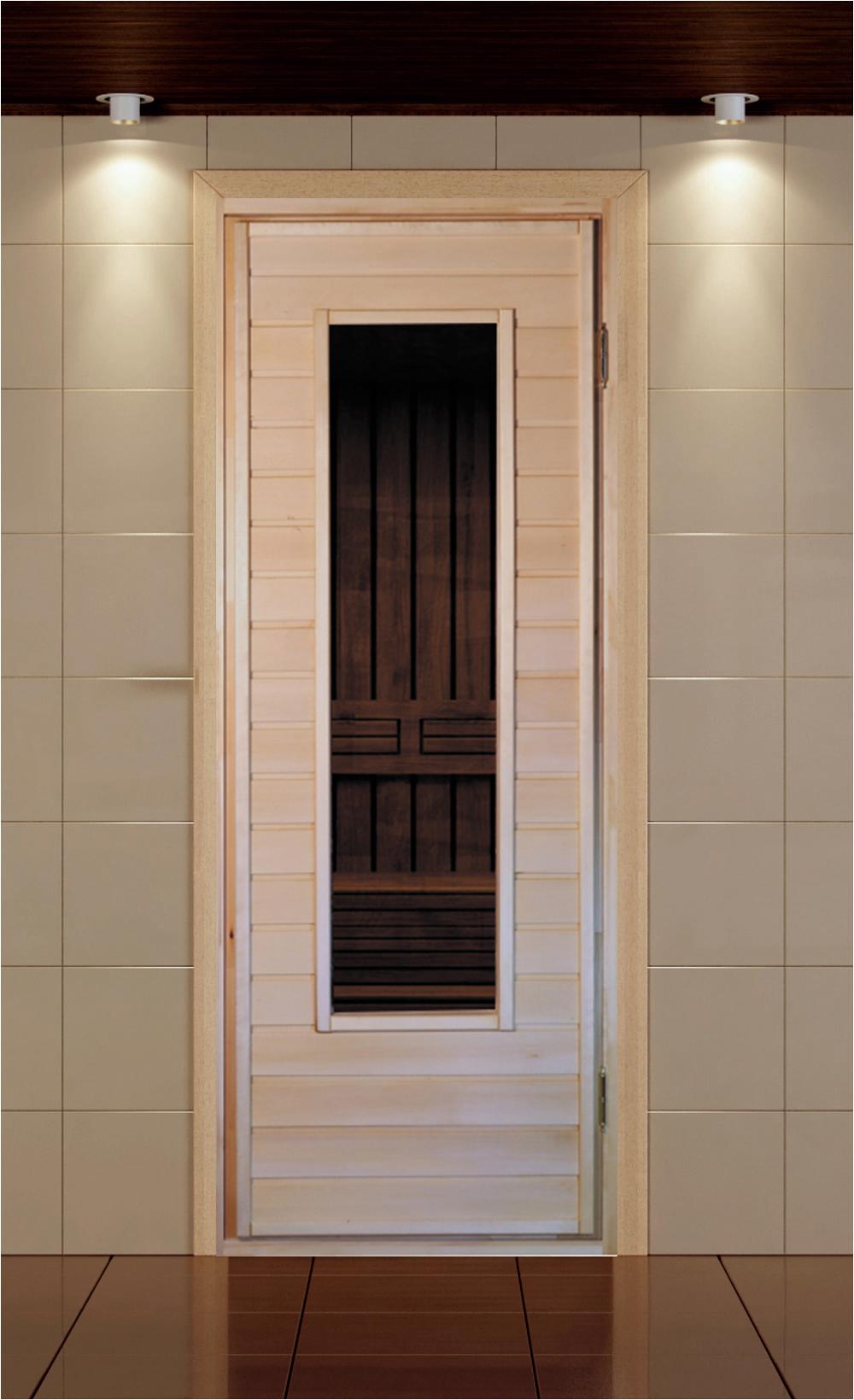 Дверь со стеклом С-2. Материал Липа    Коробка Липа. Петли 2шт    Размеры дверного блока 700-1800, 700-1900,    700-2000, 800-1900, 800-2000    Цена 4900 руб