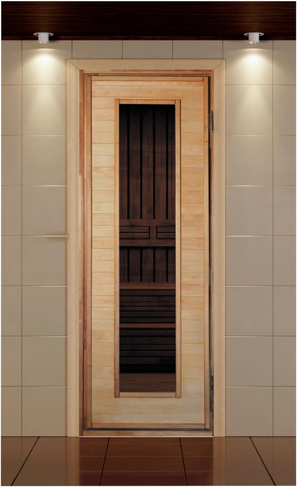 Дверь со стеклом С-3. Материал Липа    Коробка Липа. Петли 2шт    Размеры дверного блока 700-1800, 700-1900,    700-2000, 800-1900, 800-2000    Цена 4900 руб