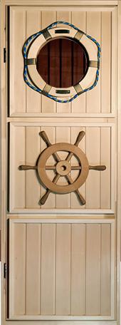 """Дверь """"Штурвал"""". Материал Липа    Коробка Липа. Петли 2шт. Размеры дверного блока    700-1800, 700-1900, 700-2000, 800-1900, 800-2000    Цена 8200руб"""