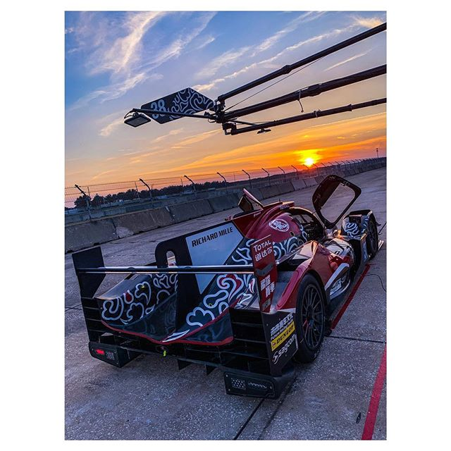 So good to be back out in a car after a few months off. 2 day test @sebringraceway with @jackiechandcracing @jota_sport . This track is pretty cool, so old school and seriously bumpy!