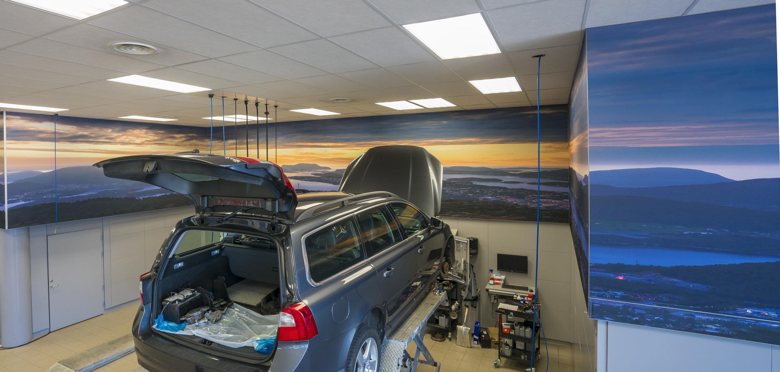 Ålesund Bil, 2 bilder totalt 57 meter lengde. Fra Gigapixel arkiv.