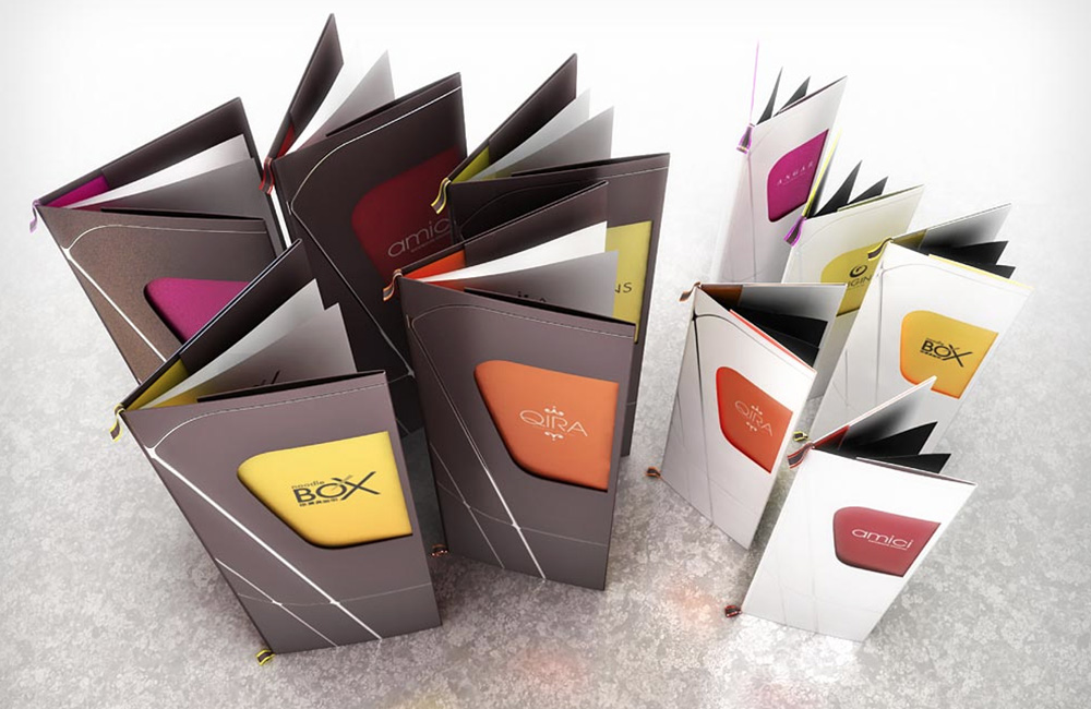 Restaurant branding & menu designs.
