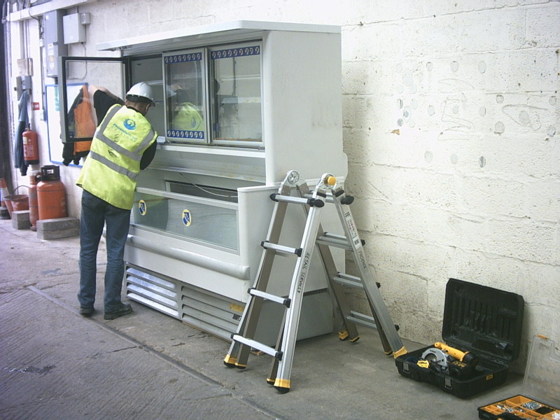 Refurbished combination freezer