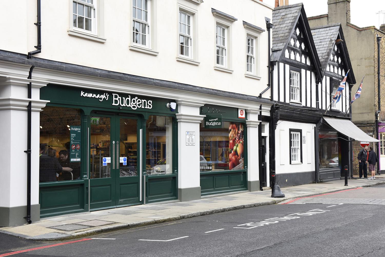 new Budgens store in Eton