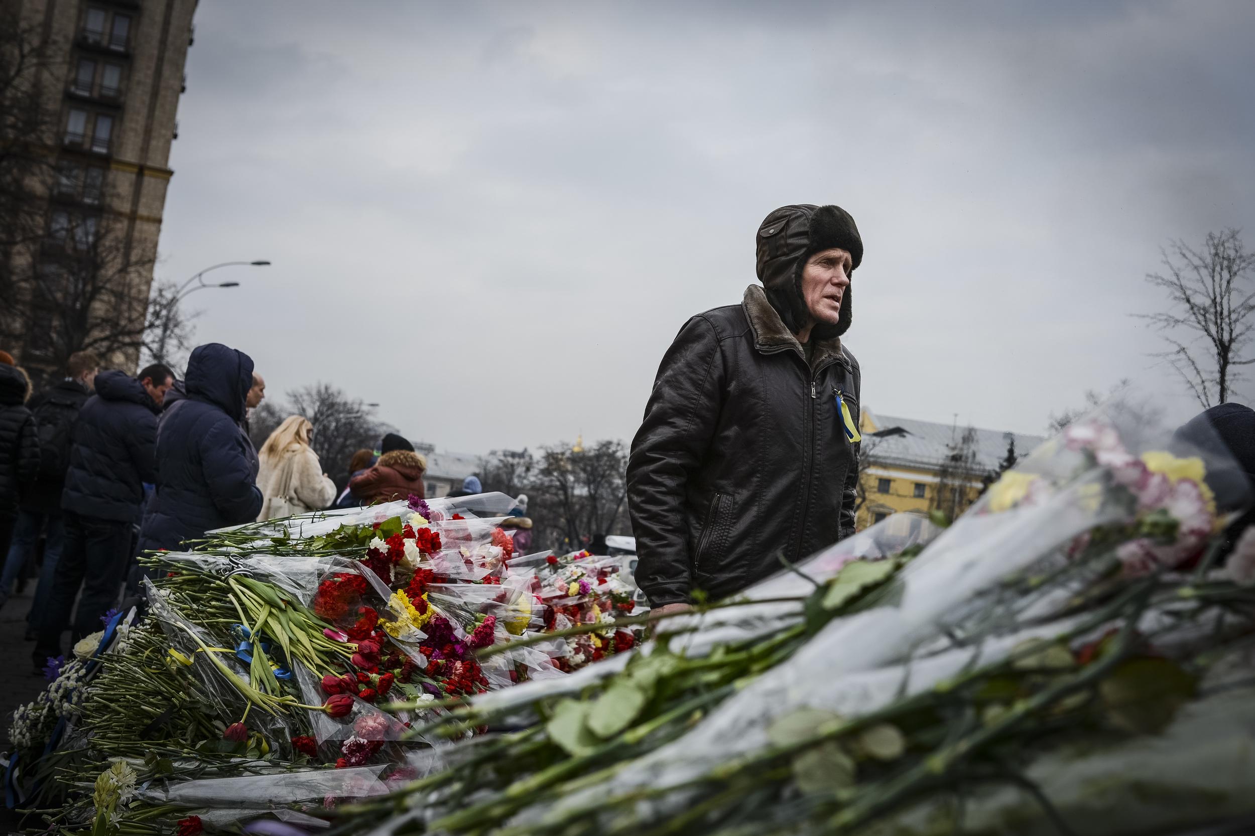 Kiev, Ukraine, February 2014 © Alex Kühni