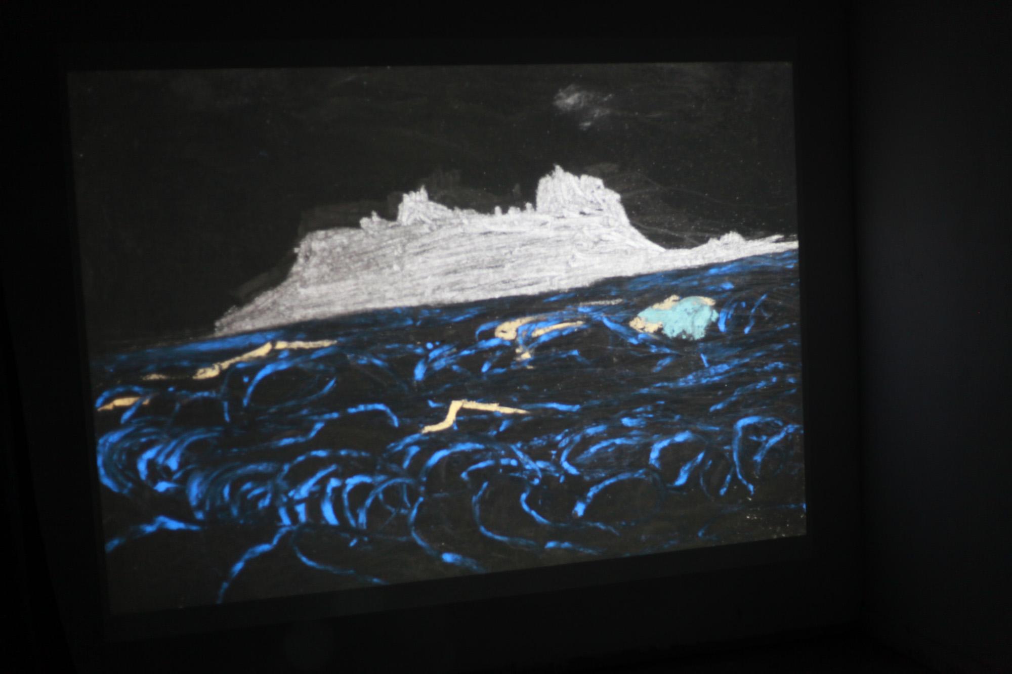 תשעים ותשע וריאציות על אי האלמוגים, וידאו, 2013.jpg