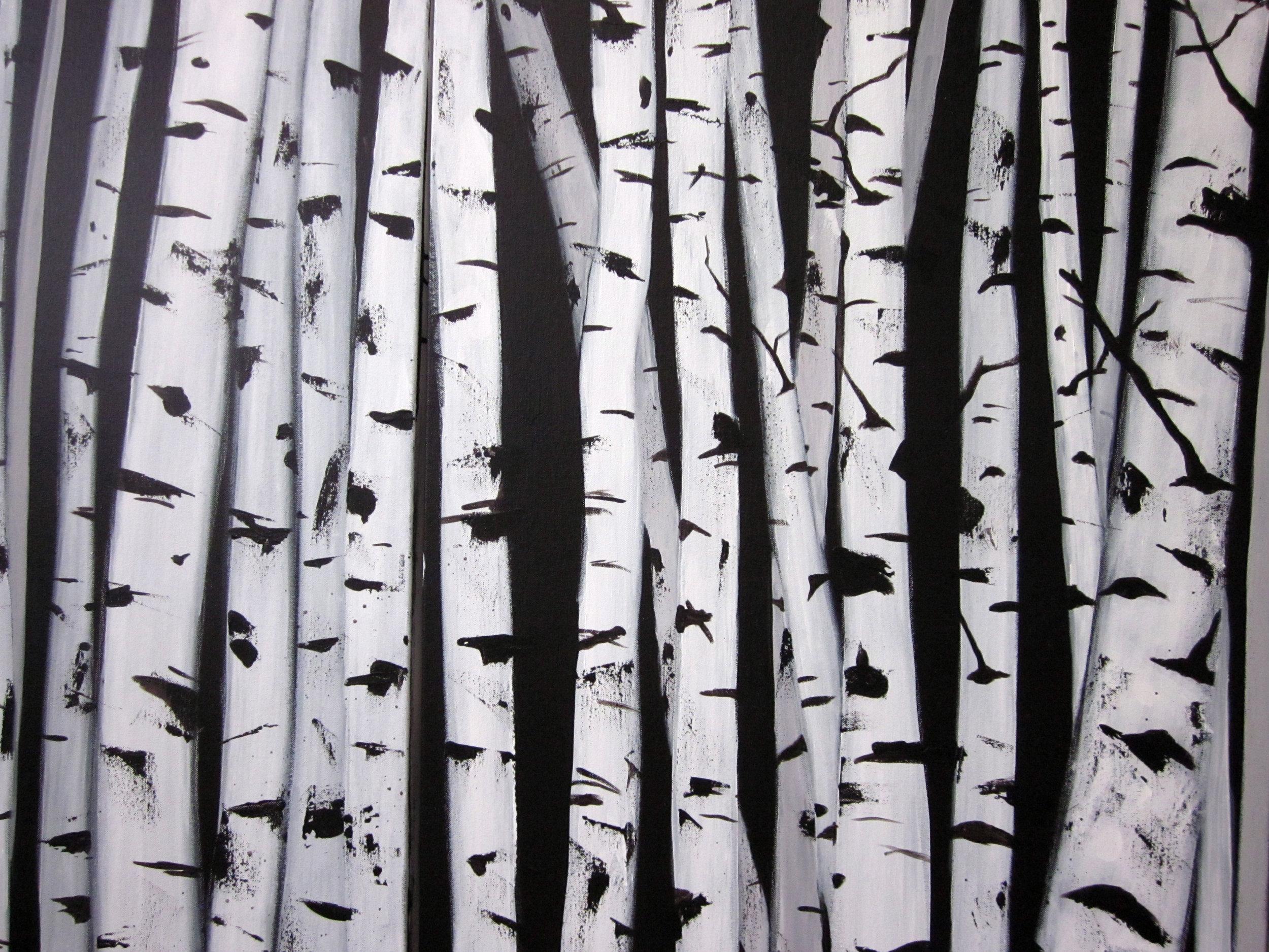 יער - אקריליק על קנווס, 2012.JPG