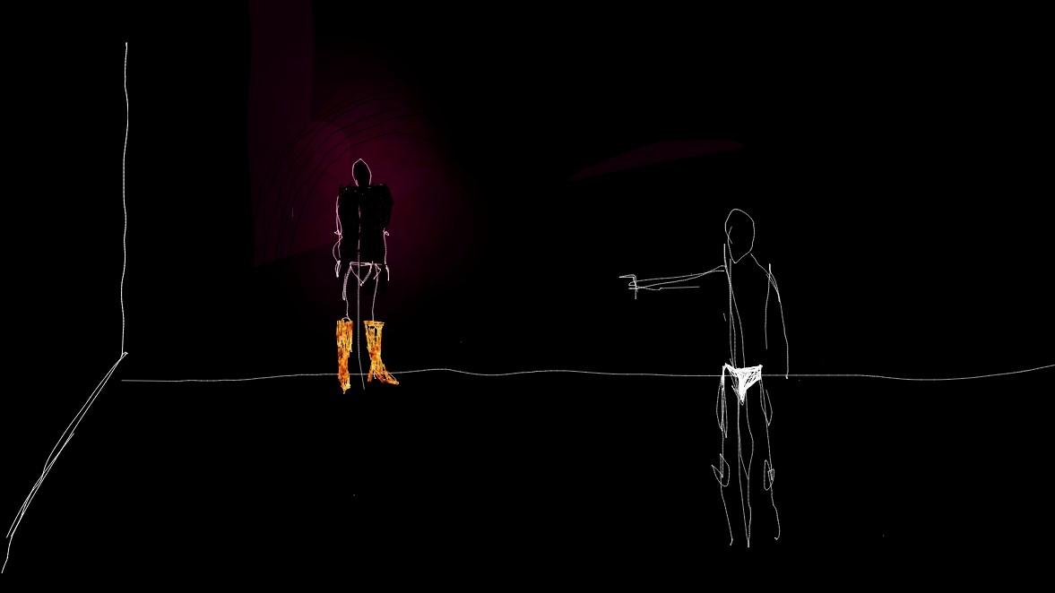 אור ענבר, ללא כותרת, אפליקציית you doodle, טלפון סלולרי, 2019