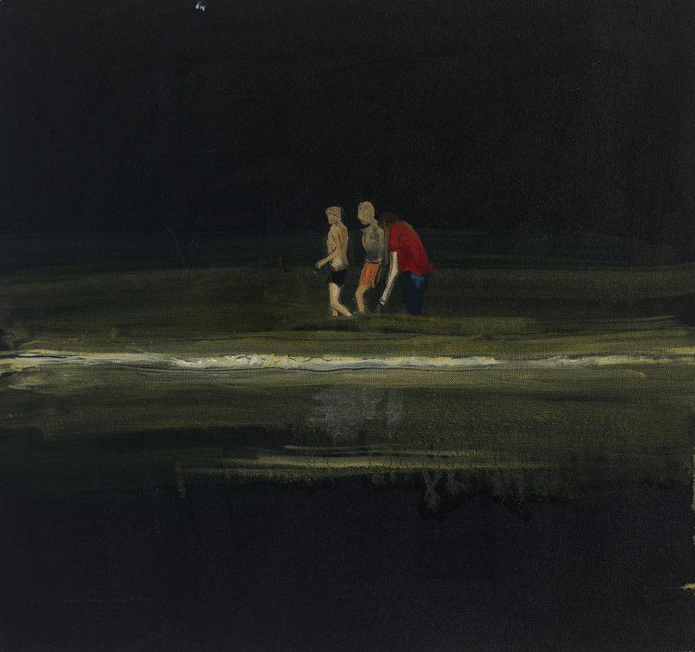 שירה קמרד, ללא כותרת, שמן על בד, 2018