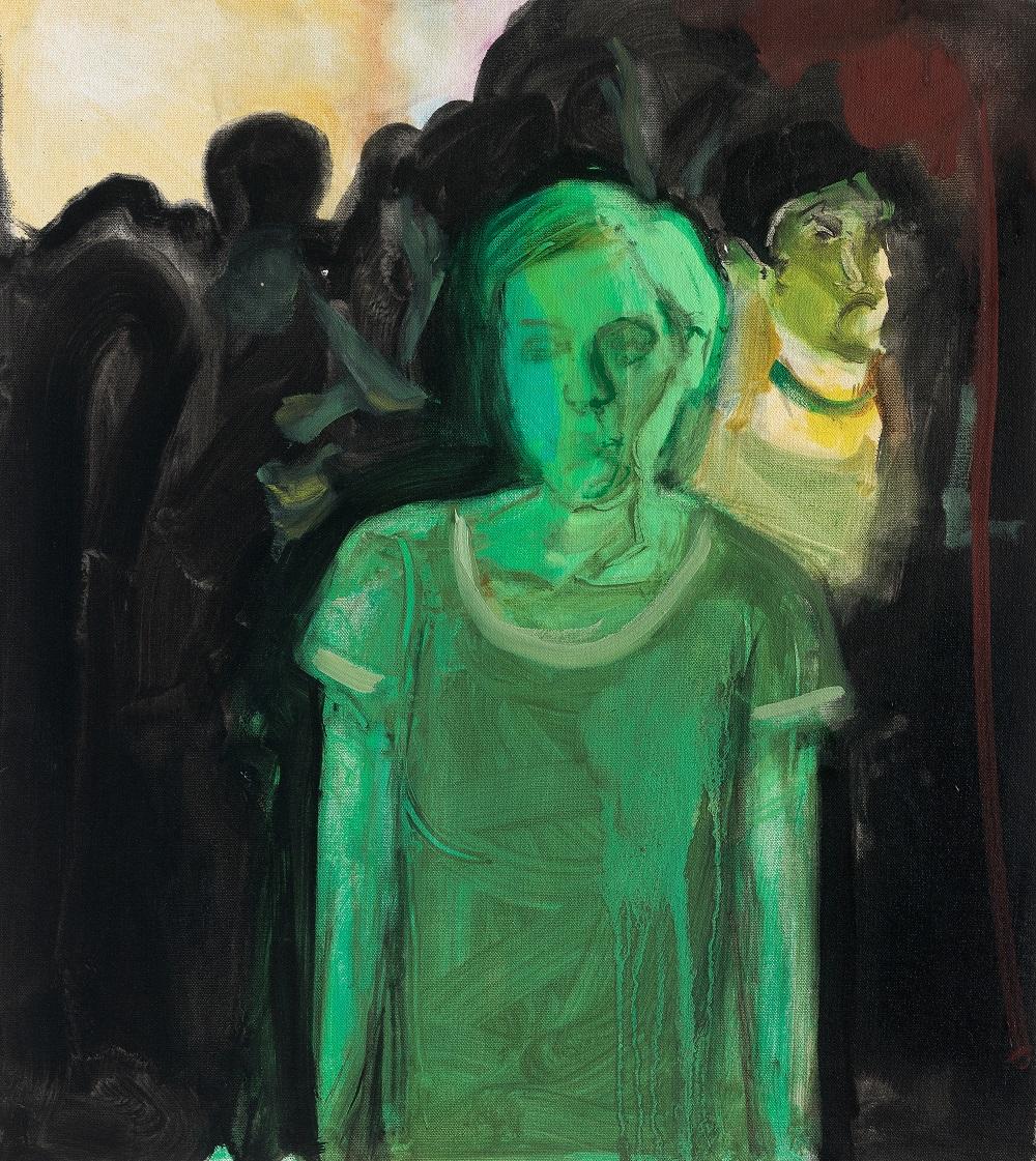 Shira Kamrad, Untitled, Oil on canvas, 2018
