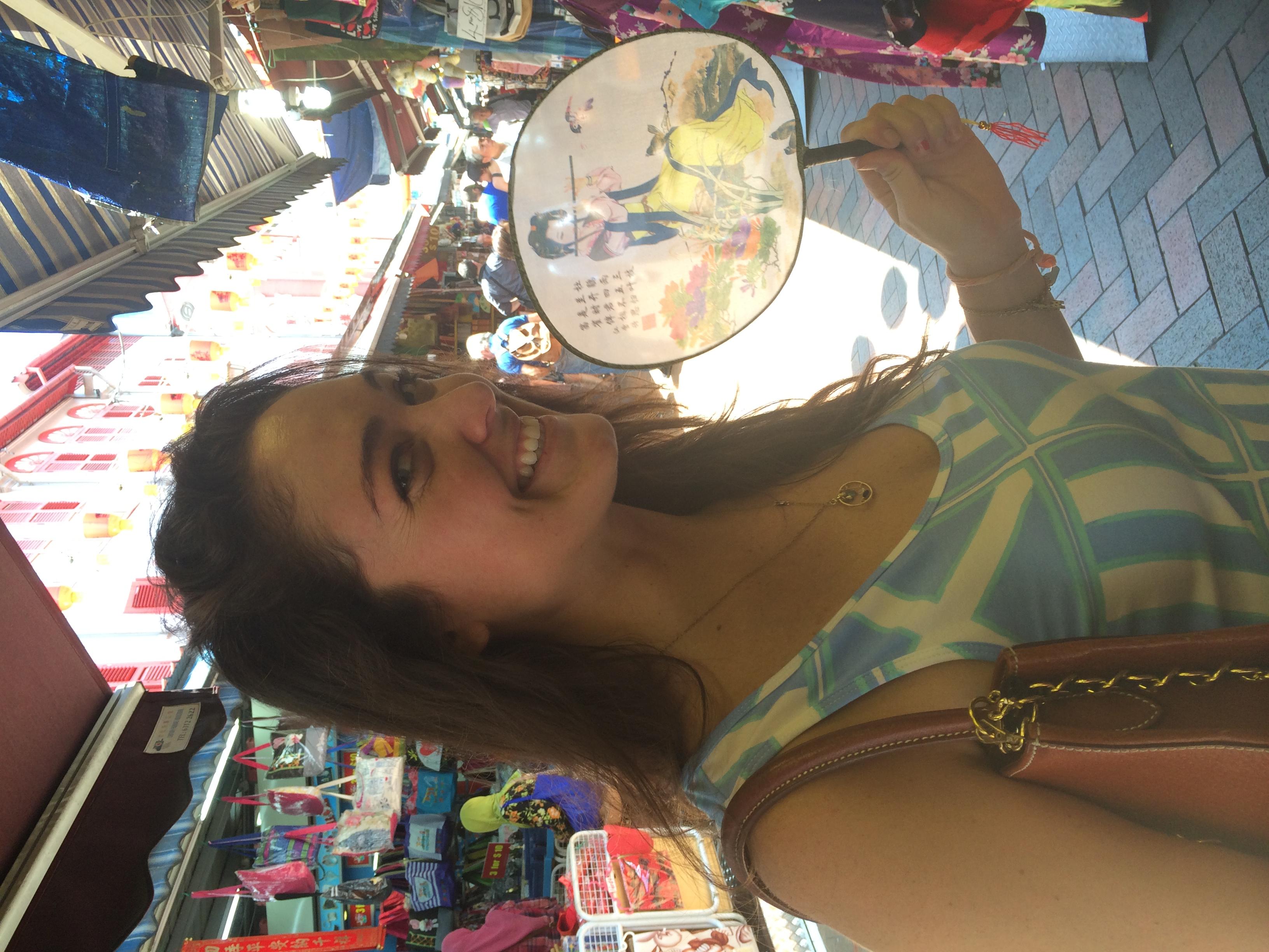 Lizzie in Chinatown