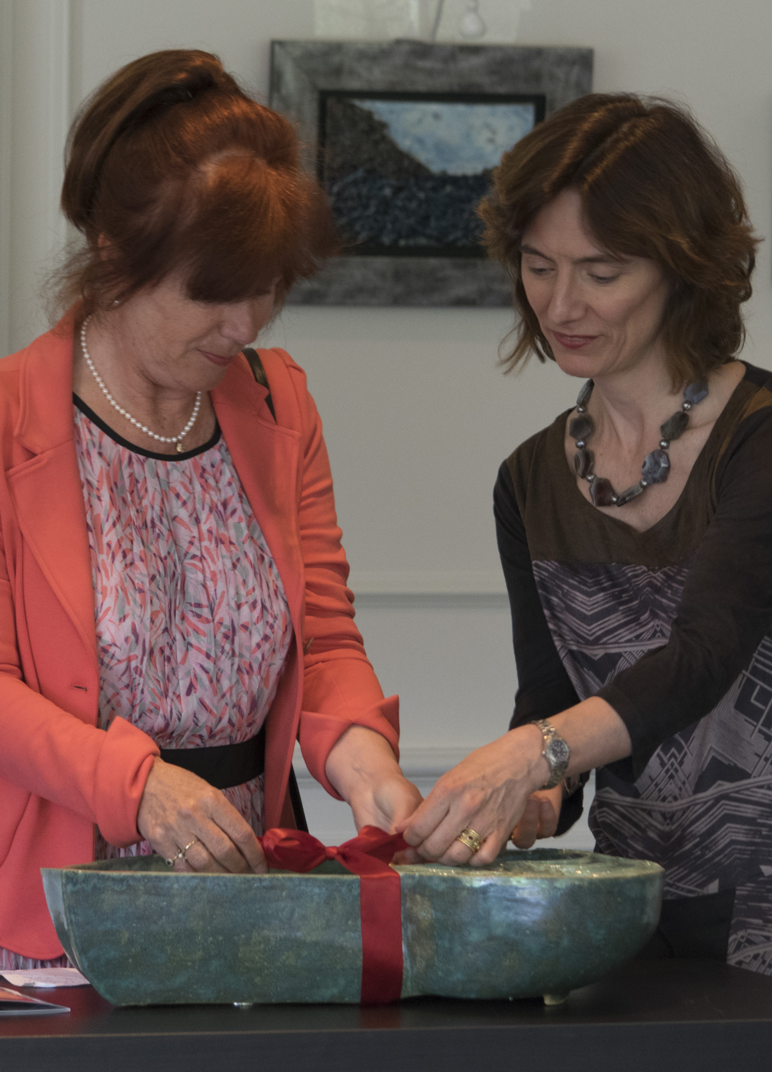 The Alderman for Culture for Bussum, Nen van Ramshorst, inaugurated the exhibition.