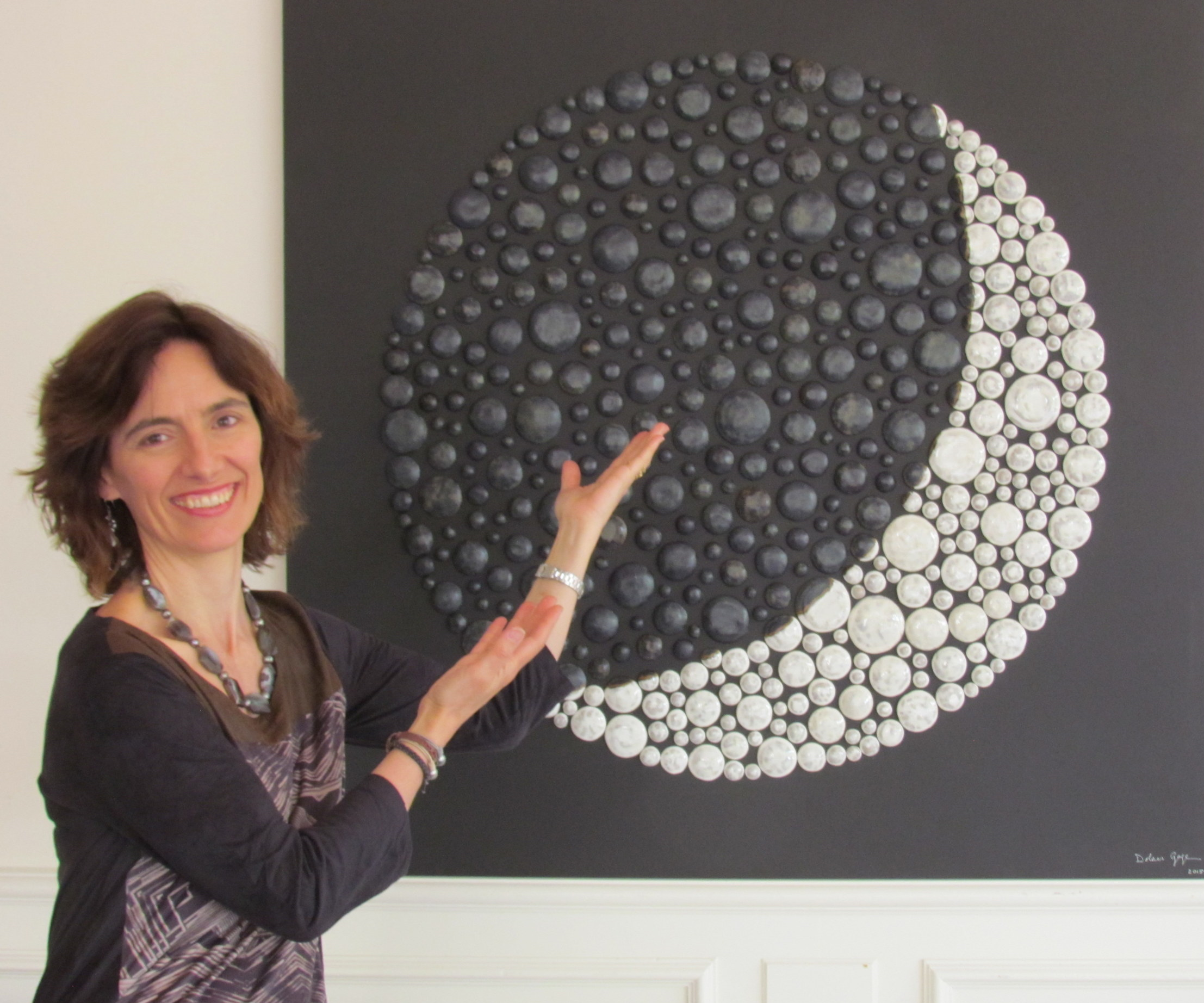 Dolores with her Moon Meditation (2015)
