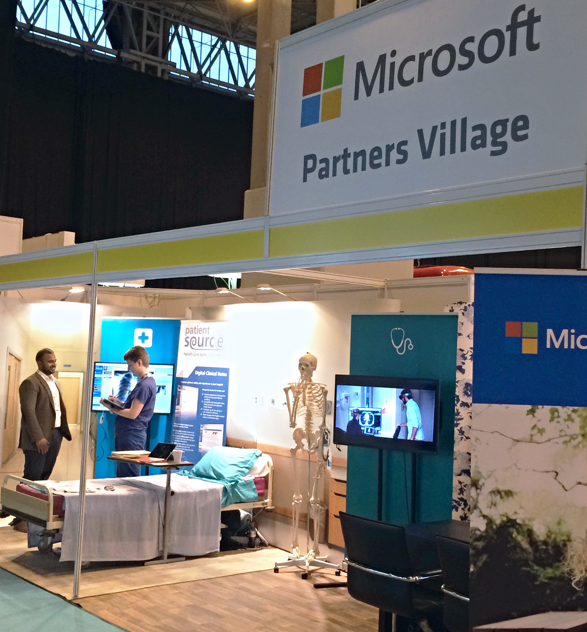 PatientSource in the Microsoft Partners' Village at EHI Live 2015