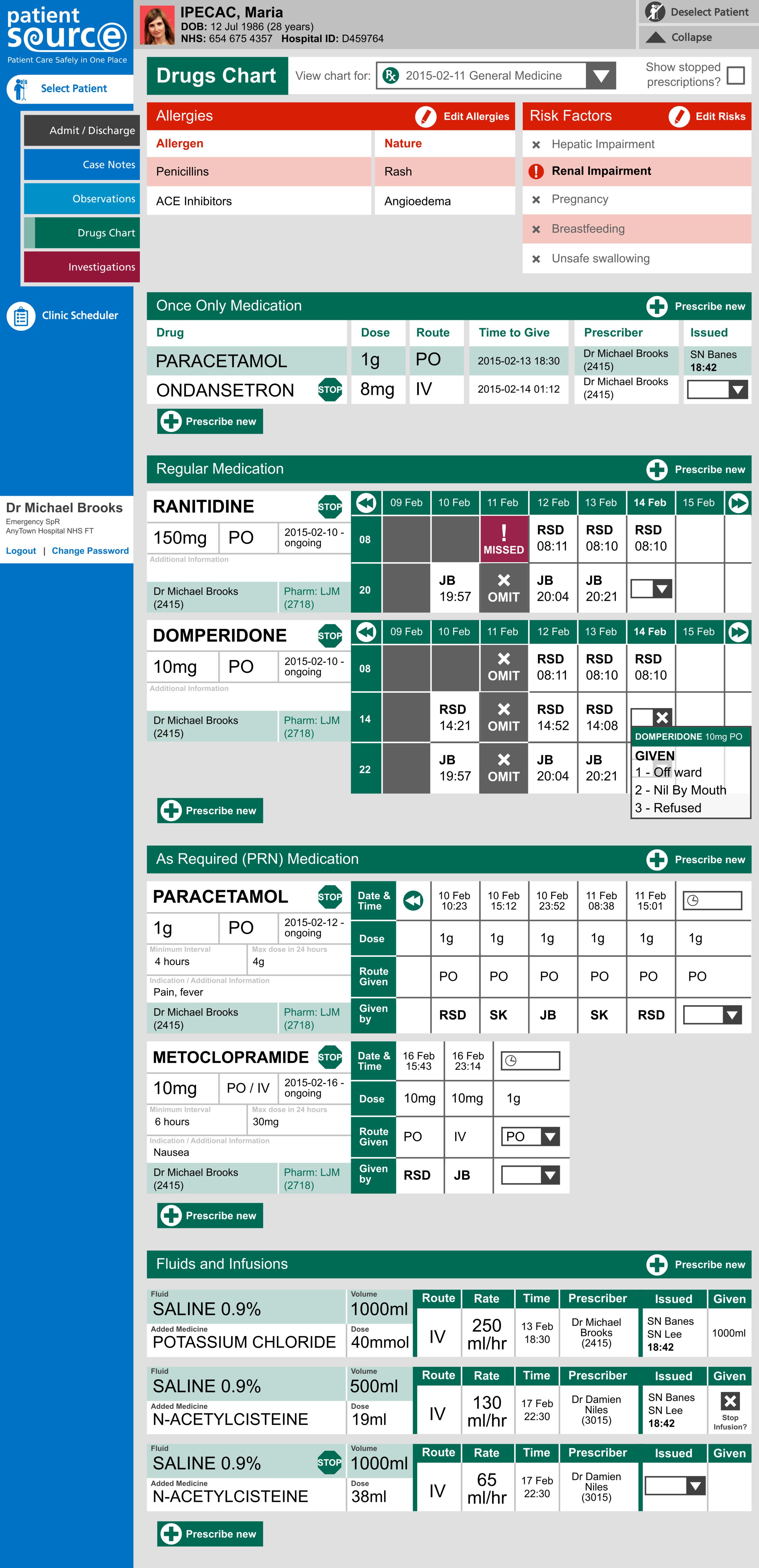PatientSource - ePrescribing - Drugs Chart.png