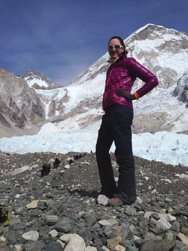 """I'm at Everest Base Camp!""  -Shayna Robinson, Owner/Operator"