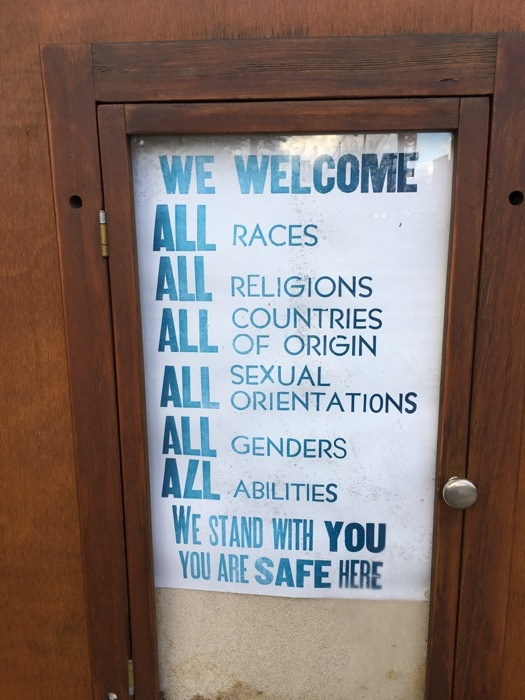 We welcome all sexual orientations.