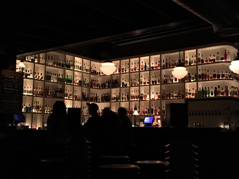 The bar at Victoria
