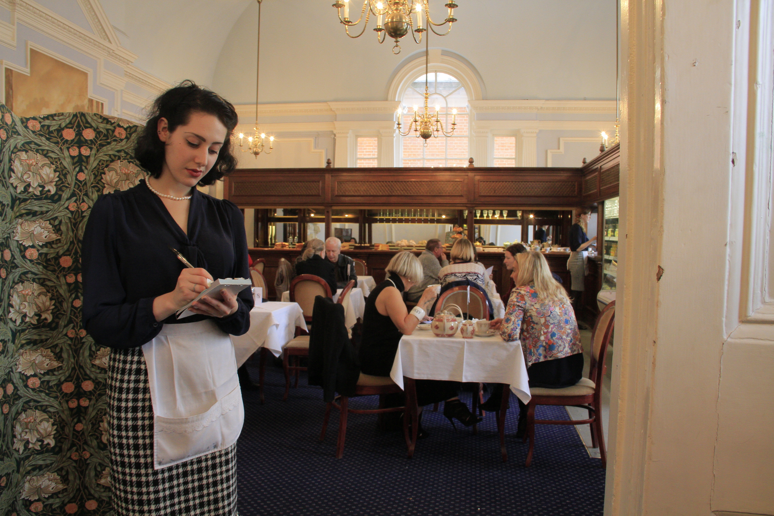 The vintage tea rooms at Frock Me