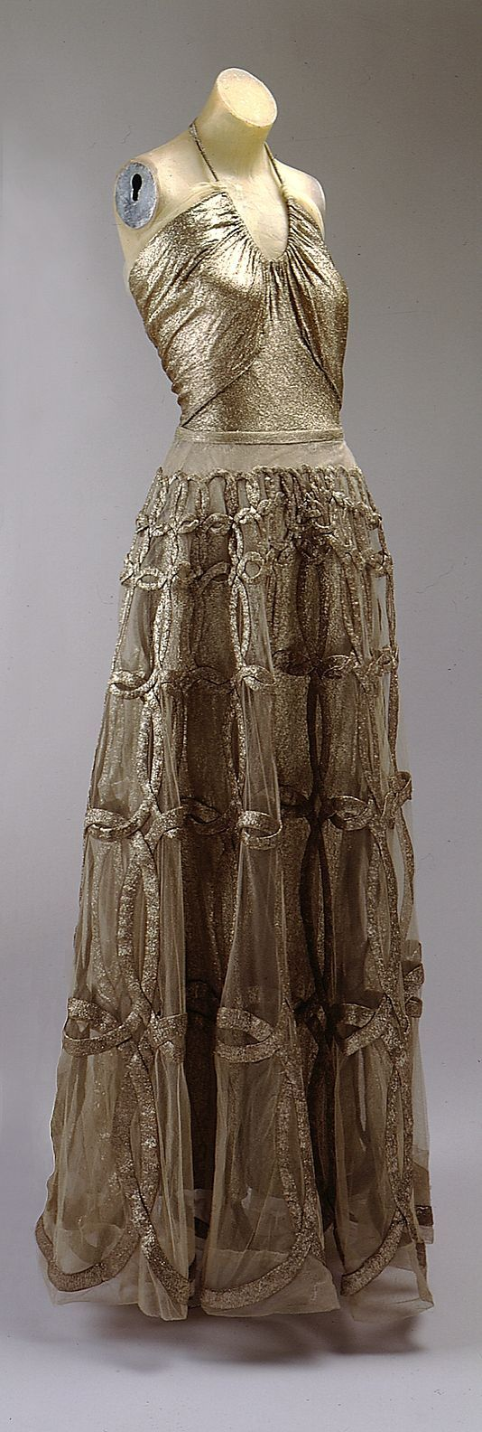 Vionnet Dress 1938-39